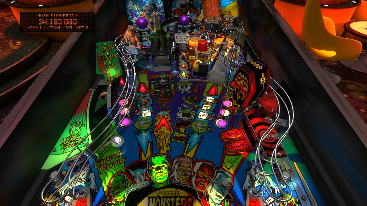 Crafting a custom metallica pinball table with linux, love